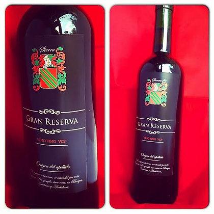 Etiquetas de vino personalizadas x 12