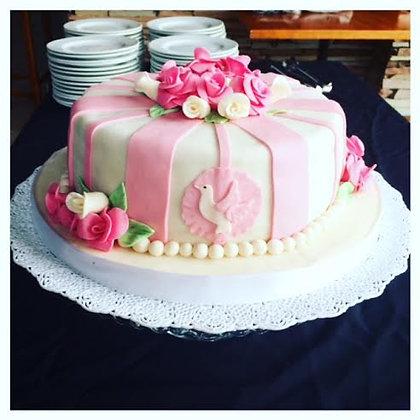 Torta religiosa modelada 1 piso - 3 kg (envío GRATIS en Mont)
