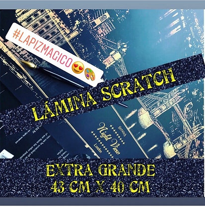 Súper Promo! Lamina magica scratch extra grande (CLICK PARA VER DETALLES)