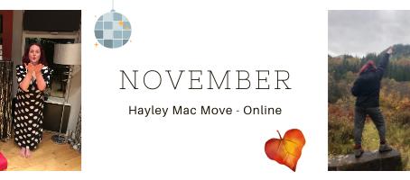 November ~ Online