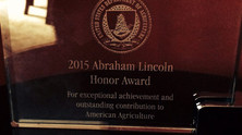 2015 Abraham Lincoln Honor Award