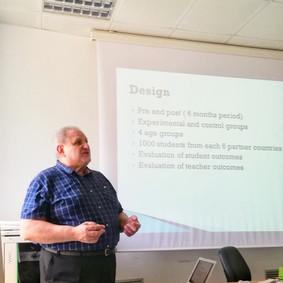 Presentation by Liberato Camilleri