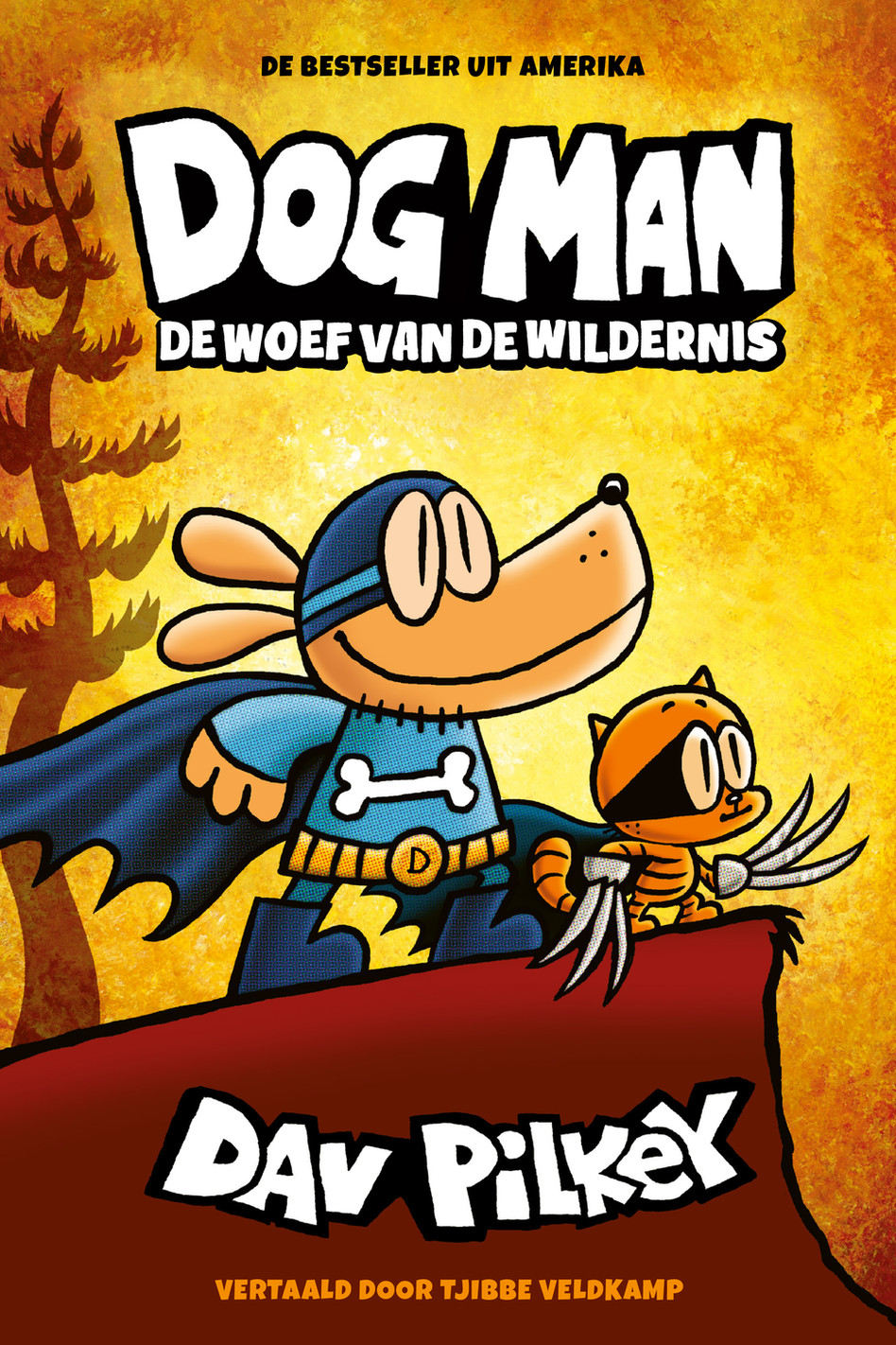 Dog Man. De woef van de wildernis