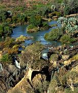 Norden in Namibi