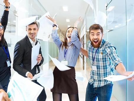 Como anda a sua energia no trabalho?