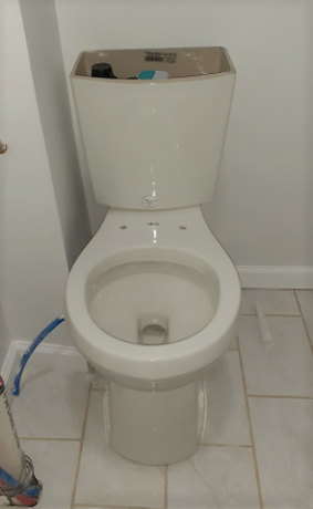 Toilet installation