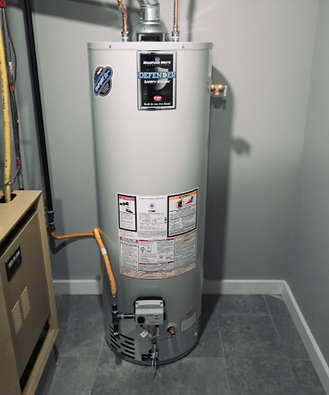 basement water heater