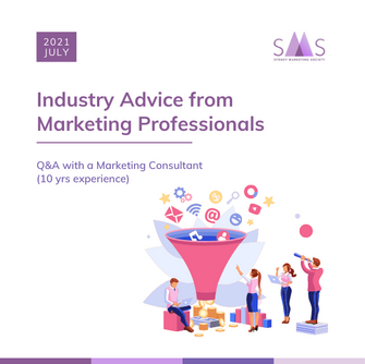 Q&A with a Marketing Consultant (10yrs experience) - Industry Advice from Marketing Professionals #1
