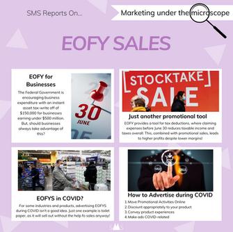 EOFY Sales - Marketing Under the Microscope #3