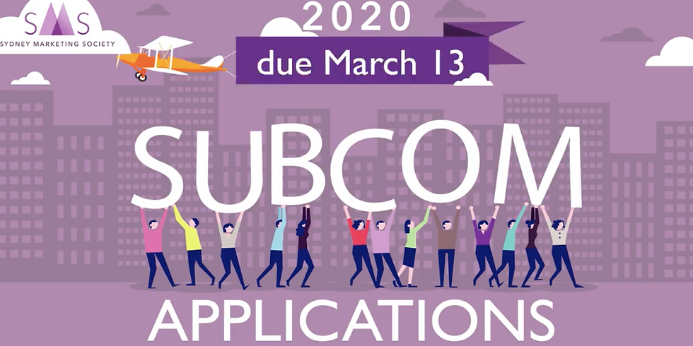Join SMS: Subcommittee Applications Now Open