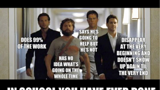 10 things every marketing student thinks about group assignments