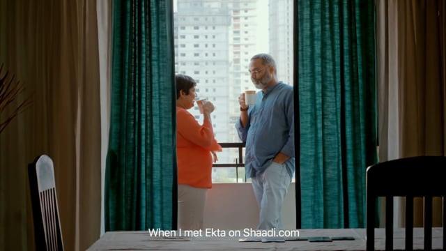 Ekta Found Her Perfect 3 on Shaadi.com