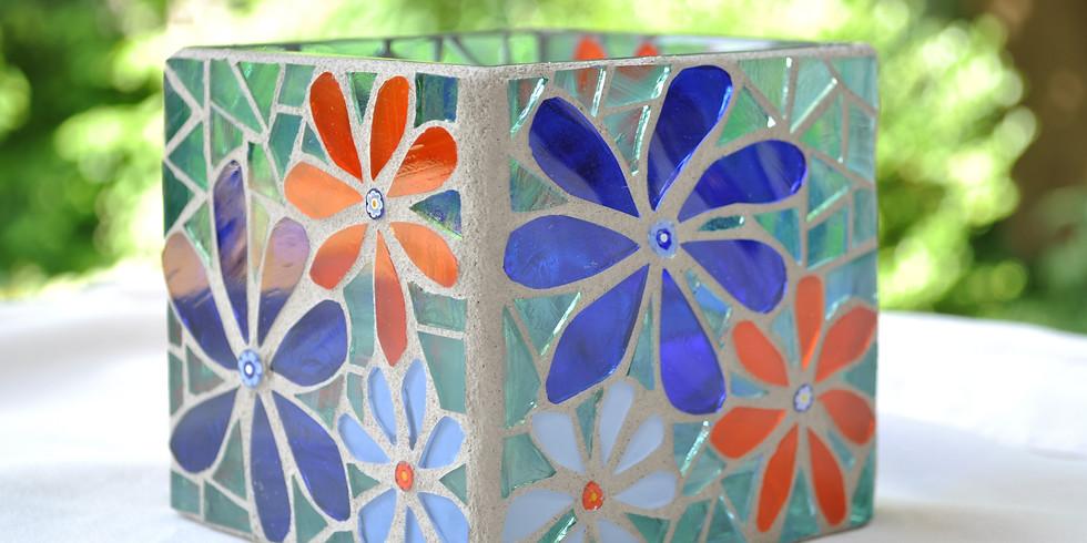 Mosaic Vase Series  @ East End Arts