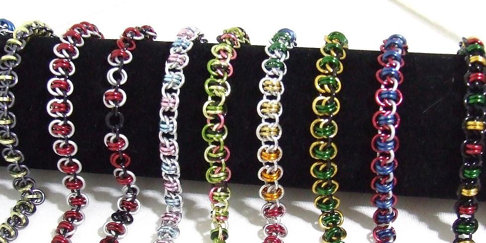 Barrel Weave Chainmaille Bracelet Workshop @ East End Arts