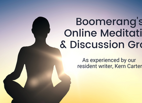 Boomerang's Virtual Discussion Group, as experienced by our resident writer
