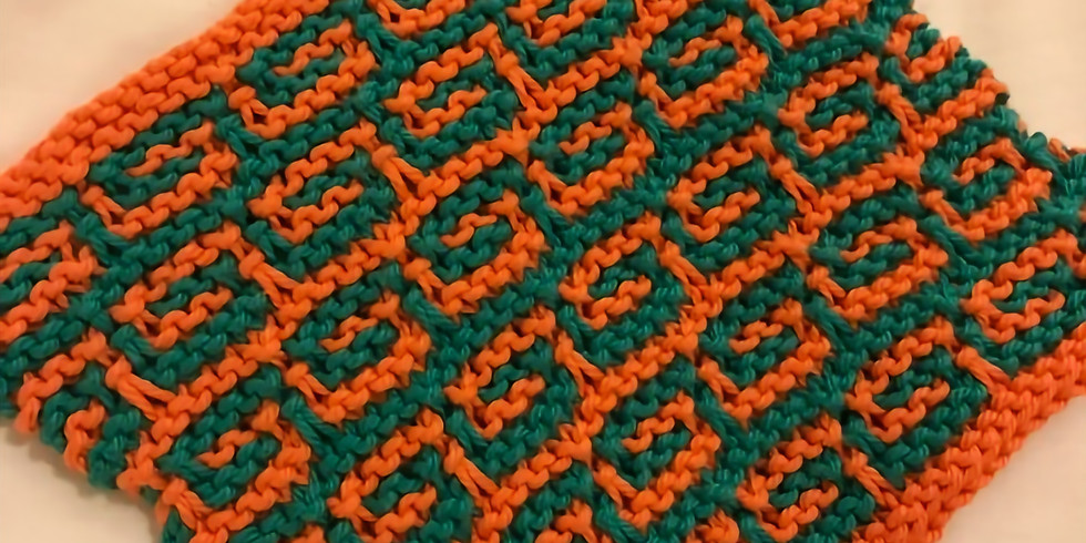 Knitting Techniques Series: Mosaic Knitting (Evening Session)