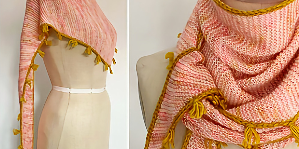 Knitting: Spring Thing Shawl (2/4)