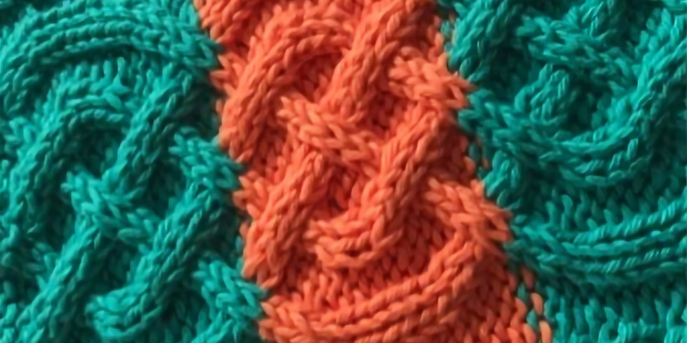 Knitting Techniques Series: Cabling (Evening Session)