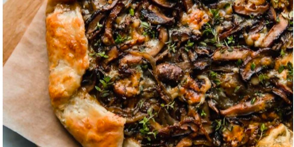 Savoury Mushroom Galette @ Home