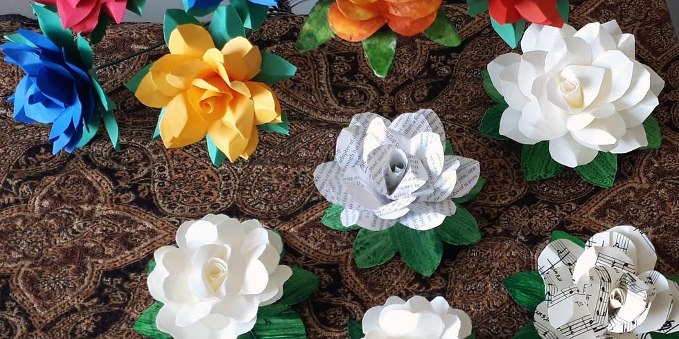 Paper Flower Art Workshop