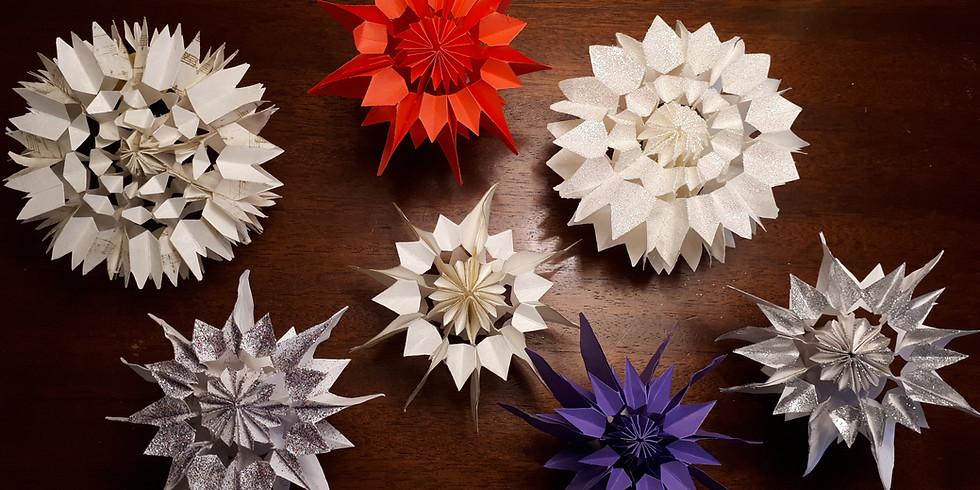 Stars, Snowflakes and Trees Workshop