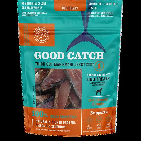 Good Catch Thick Cut Mahi Mahi Jerky Treat 3 oz