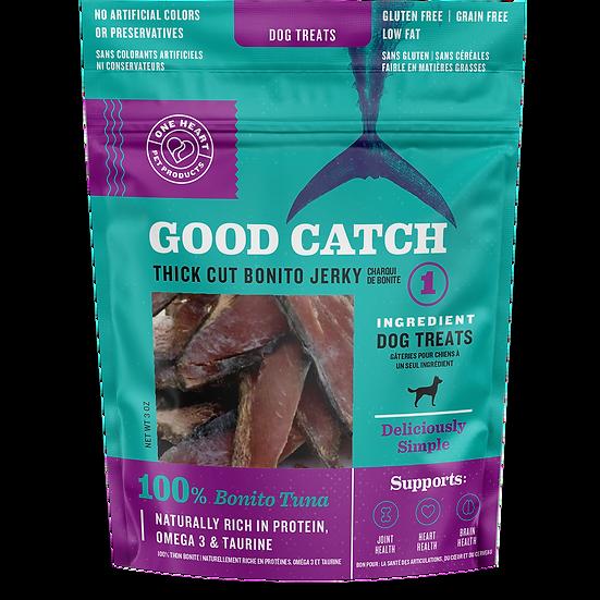 Good Catch Thick Cut Bonito Tuna Jerky 3 oz