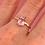 Thumbnail: Pink Pear Ring