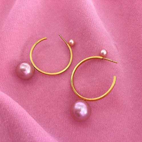 Double Planet Earrings