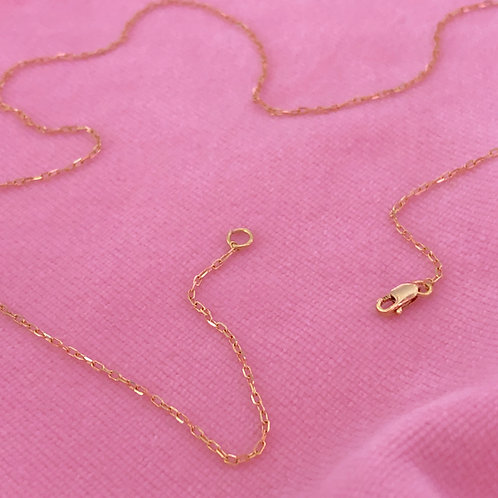 18KT Gold Chain 42cm