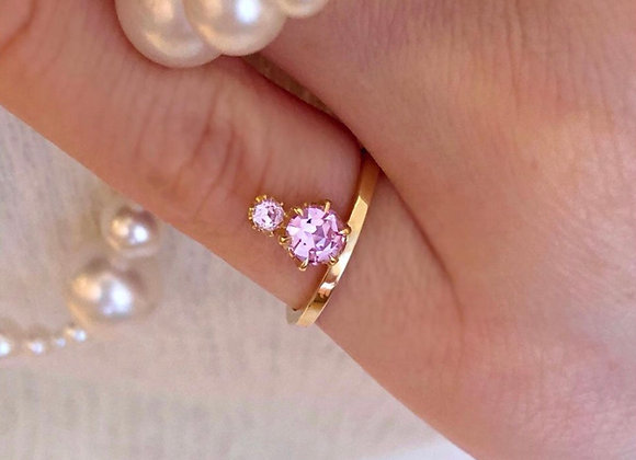 Sapphire Pinky Ring