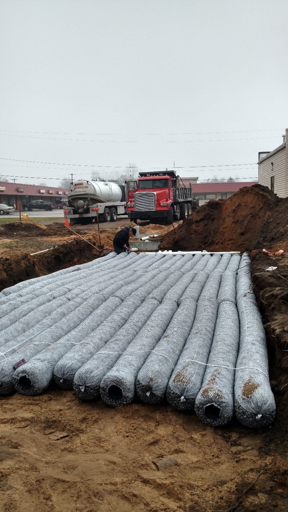 Is all this rain giving you troubles with your drainfield?