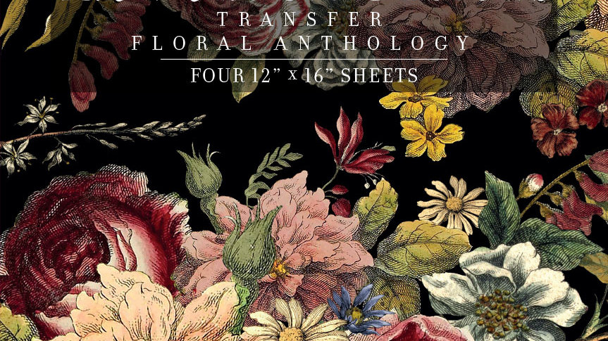 FLORAL ANTHOLOGY IOD TRANSFER 12×16 PAD™