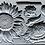 Thumbnail: SUNFLOWERS 6X10 IOD MOULDS™