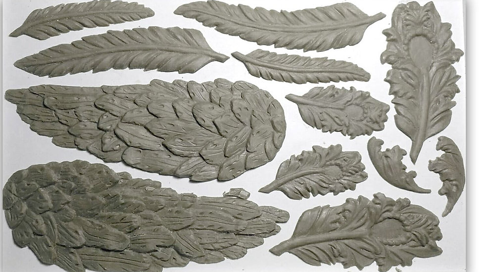 WINGS AND FEATHERS 6×10 DECOR MOULDS™