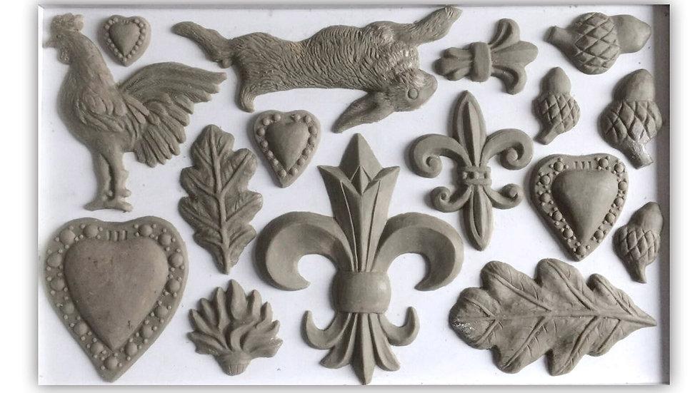 FLEUR DE LIS 6×10 DECOR MOULDS™
