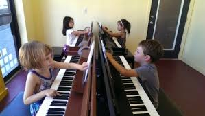 Group Piano Lesson
