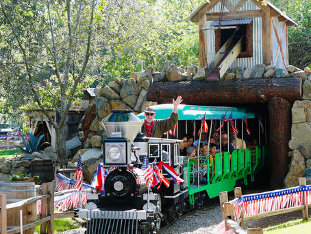Let's Celebrate Irvine Park Railroad's 24th Anniversary With A Giveaway