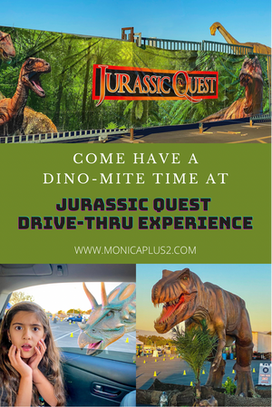 Come Have A DINO-MITE Time At Jurassic Quest Drive Thru Experience