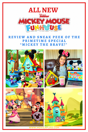 """All New Mickey Mouse Funhouse- Review And Sneak Peek of """"Mickey The Brave"""""""