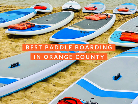 Best Paddle Boarding In Orange County