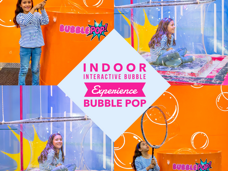BubblePOP- Indoor Interactive Bubble Experience