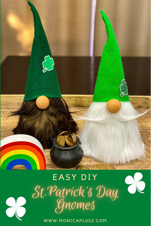 Easy DIY St. Patrick's Day Craft-      St. Patrick's Day Gnomes