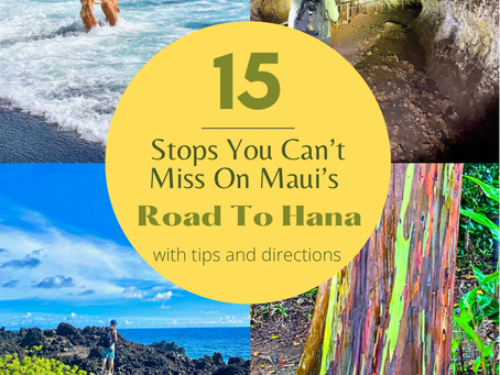 15 Stops You Can't Miss On Maui's Road To Hana