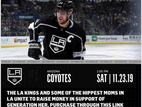 LA Kings Game For A Cause