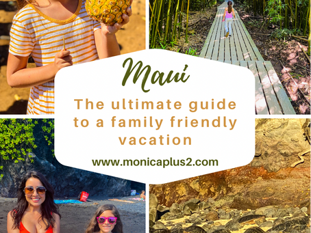 The Ultimate Guide To A Family Friendly Vacation In MAUI. Google Map Included