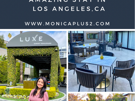 Luxe Sunset Boulevard Hotel Review- Amazing Stay In Los Angeles, CA