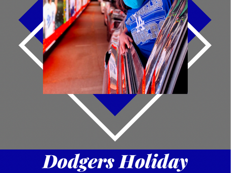 Dodgers Holiday Festival- Everything You Need To Know About This Drive Thru Experience