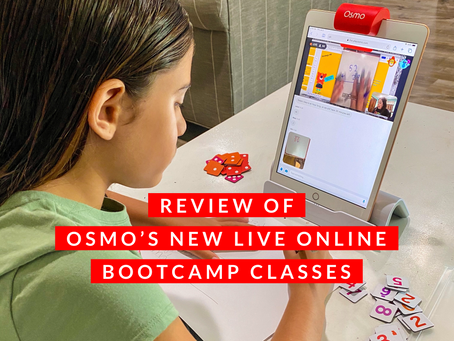 Review Of Osmo's New Live Online Bootcamp Classes