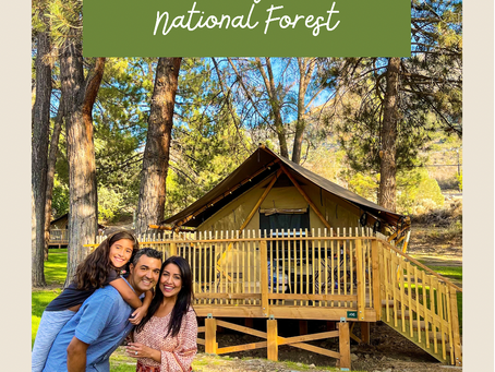 Huttopia Paradise Springs- Best Glamping in Los Angeles National Forest